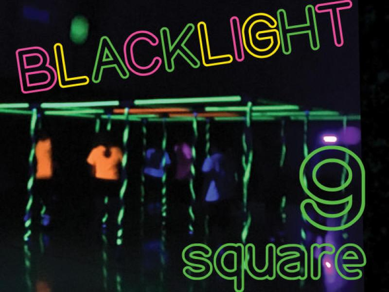 Blacklight 9 Square