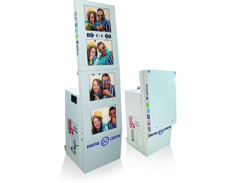 Photo Booth 4 Panel Display