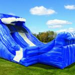 Wild Wave Mini Water Slide Side View