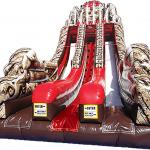 Raiders of the Lost Temple Slide Front View