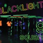 Blacklight 9 square set up