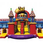 Midway Amusement Obstacle Course Front View