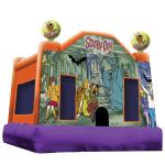 Scooby Doo Bounce House Perspective View