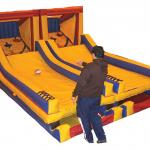 Ba Skee Ball Interactive Game Perspective View