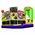Sports Combo 5in1 Inflatable with Jumping Area