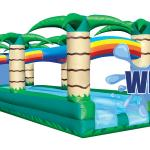 Slip N Slide dual lane Tropical, Water Slide Logo
