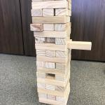 Giant Jenga Full View Perspective