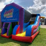 Bounce N Slide Outside Party