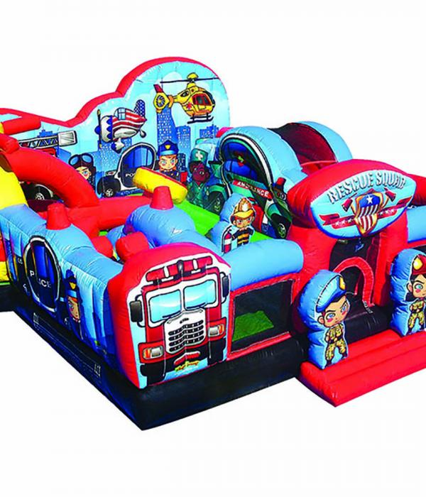 Rescue Squad Toddler Game Perspective View