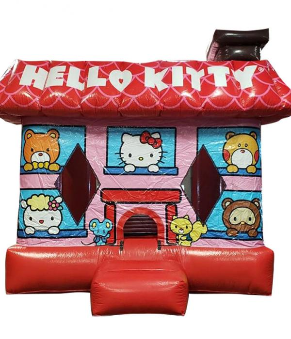Hello Kitty Bounce House From Perspective Castle Bouncy